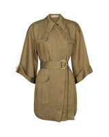 Trench Mini Dress