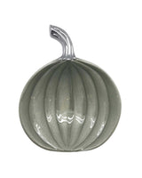 Small Pumpkin Dish - Teal