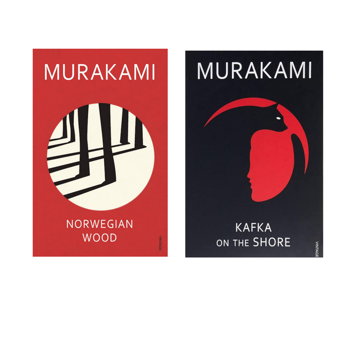 Norwegian Wood & Kafka on the Shore Combo- Paperback - eLocalshop