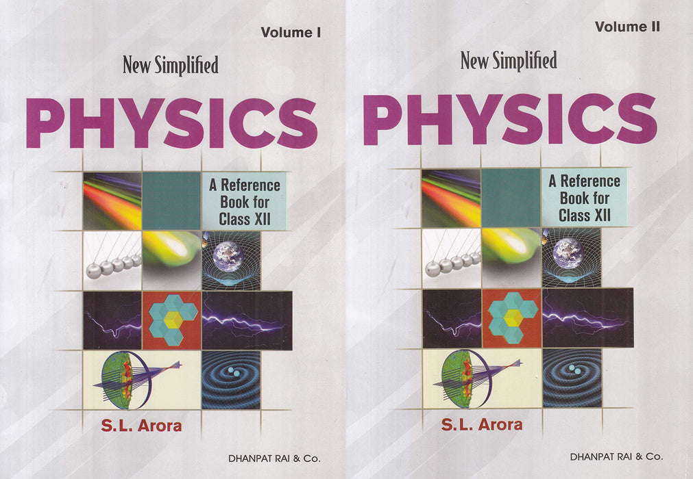 New Simplified Physics : A Reference Book for Class 12 Examination 2020-2021 (Set of 2 Volumes) Paperback – 1 March 2020