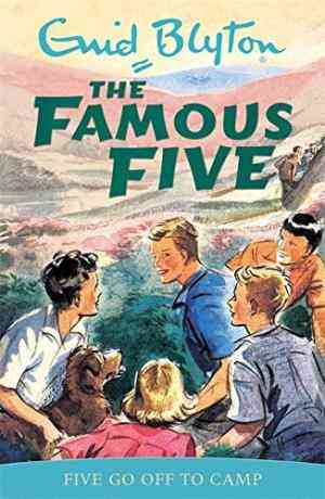 Five Go Off to Camp (Famous Five, #7)- 99bookscart-secondhand-bookstore-near-me