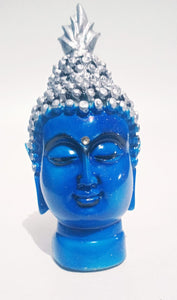 Polyresin Buddha Head Figurine