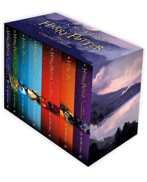 Harry Potter Box Set (Set of 7 Volumes)-Paperback - eLocalshop