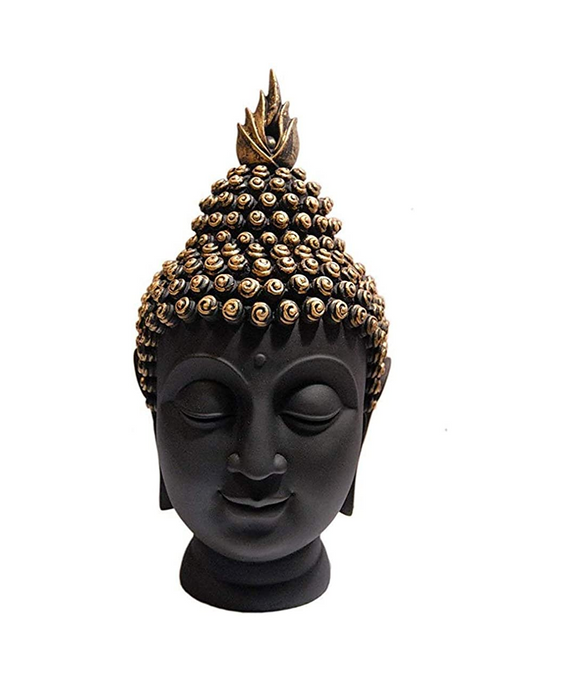 Polyresin Budhha Head Figurine
