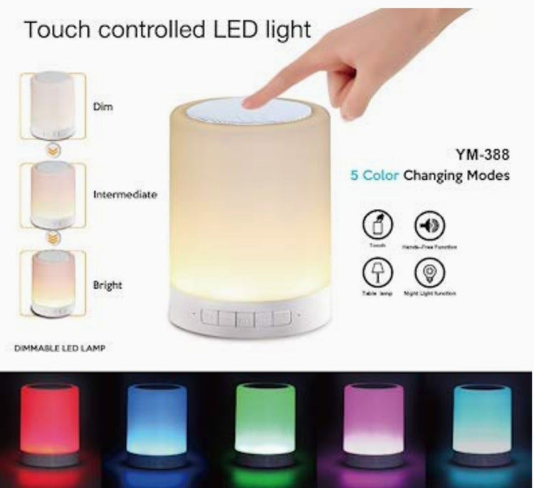 CL-671 Touch LAMP Intelligent Portable Speaker - eLocalshop