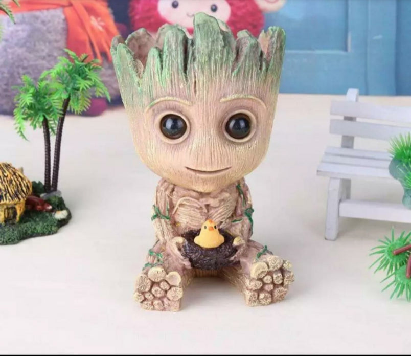Guardians of The Galaxy Baby Groot Multi Purpose Flower Pot/Pen Stand