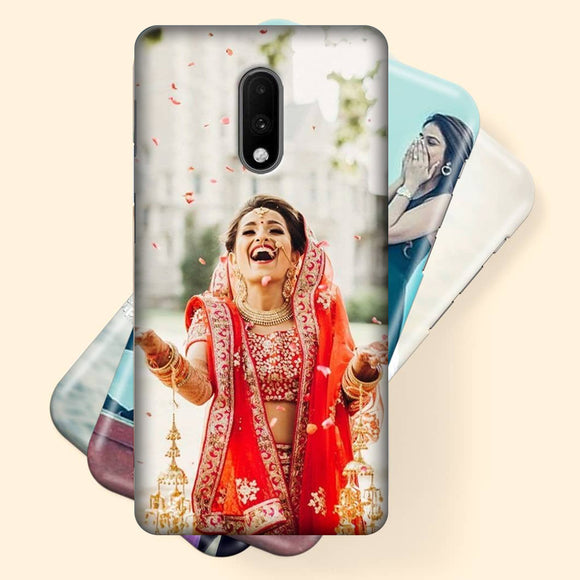 SUBLIMATION 3D Customized and Personalised Mobile Back Cover for Your Own Photos and Messages All Models Available