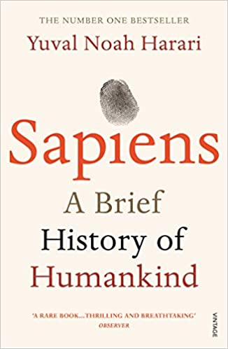 Sapiens: A Brief History of Humankind Paperback – 11 June 2015 by Yuval Noah Harari