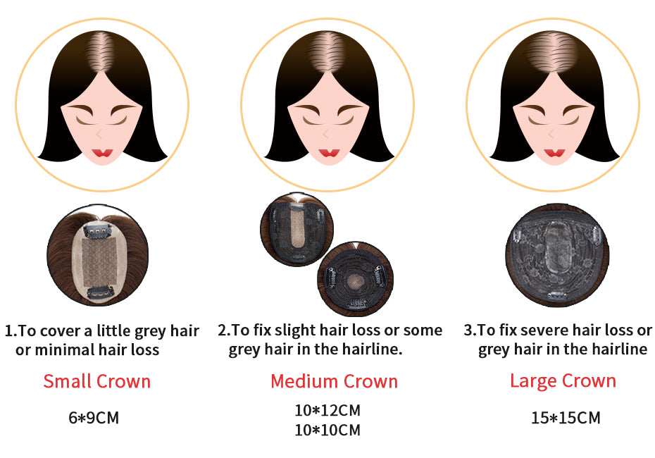 how to pick e-litchi human hair topper