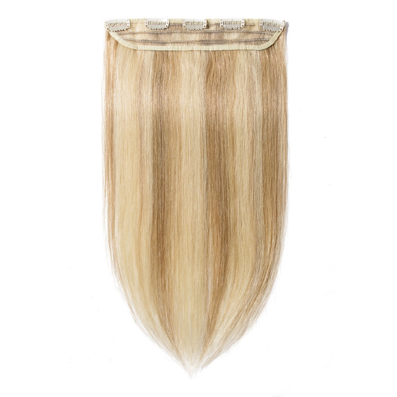 Clip In Human Hair Extensions For More Volume & Length Single Weft Light Volume All Shades