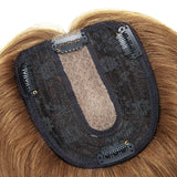 E-litchi Halo Human Hair Extension Ear Dye Bleach Blonde/Blue