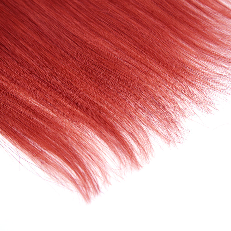 Red Halo Human Hair Extension