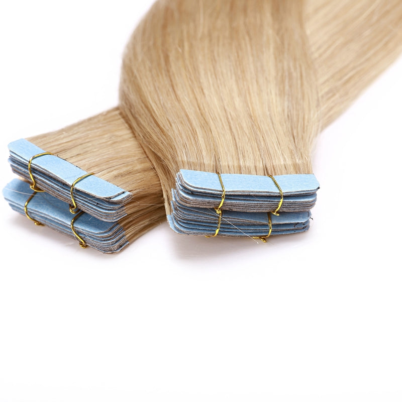 E-litchi Straight Natural Blonde Tape-Ins
