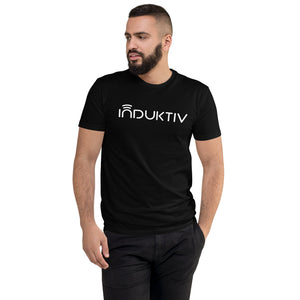 """INDUKTIV"" Logo Short Sleeve T-shirt"