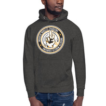 Load image into Gallery viewer, Induktiv cut the cord circle Logo Unisex Hoodie