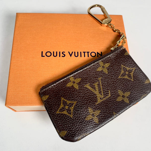Louis Vuitton portamonete in tela Monogram