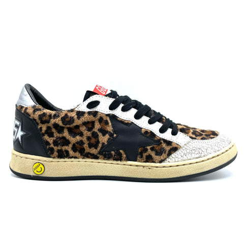 Golden Goose Leopard Superstar, 38