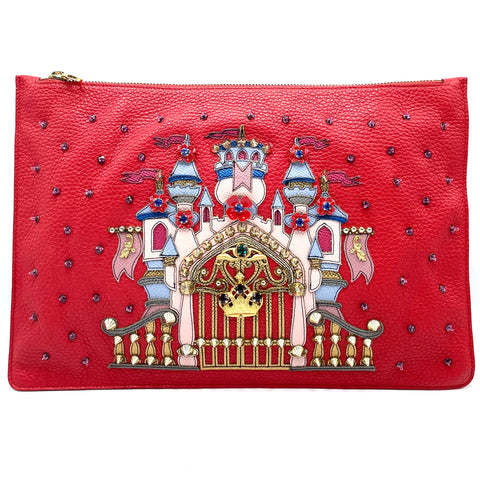 Dolce & Gabbana clutch #dg family in pelle