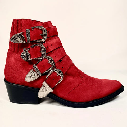 Toga Pulla cow-boy boots in pelle scamosciata, 38