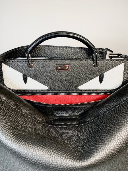 Fendi Selleria, borsa Peekaboo Monster