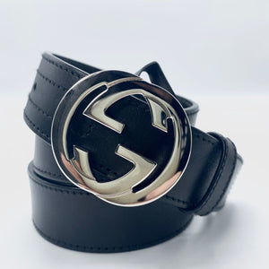 Gucci cintura Interlocking Monogram, 80