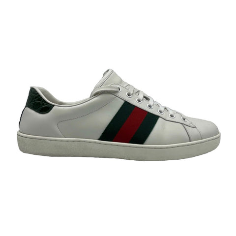 Gucci Ace in white leather