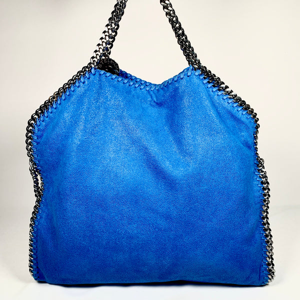 Stella McCartney tote bag Falabella blu royal