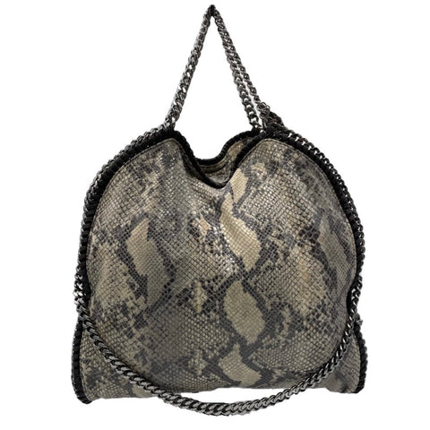 Stella McCartney Falabella Gray/White Python