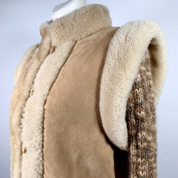 Yves Saint Laurent cappotto in montone, M