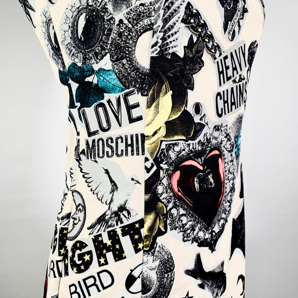 Love Moschino, abito in jersey