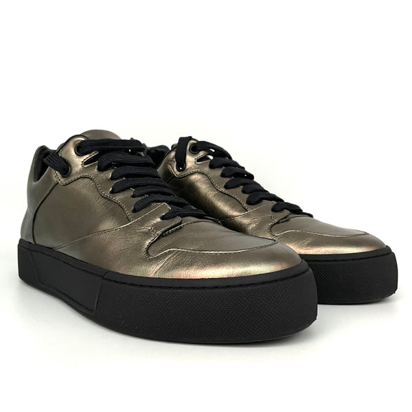 Balenciaga sneakers in pelle gold, 39