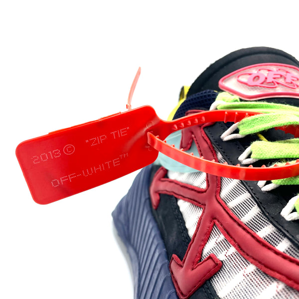 Off White sneakers Odsy-1000 Blue Red, 44