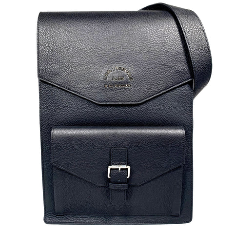 Karl Lagerfeld black leather backpack
