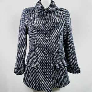 Chanel cappotto in lana boucle', 44