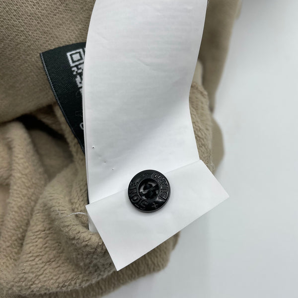 Stone Island hoodie color cappuccino, S