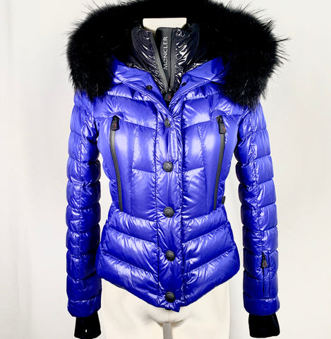 Moncler Grenoble Bever down jacket in blue, 40