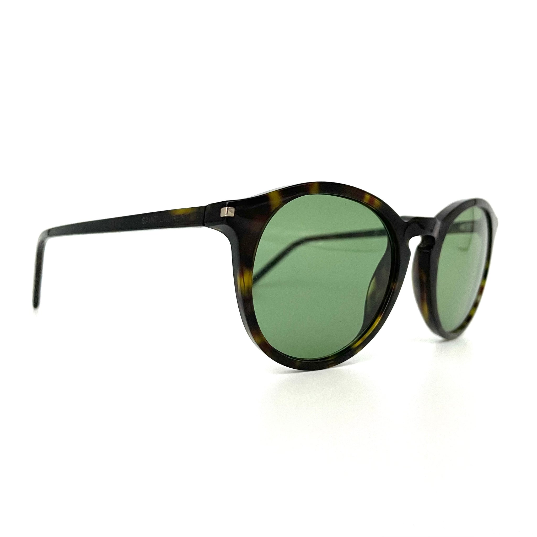 Saint Laurent occhiali da sole SL53 slim havana