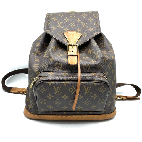Louis Vuitton zaino Montsouris monogram