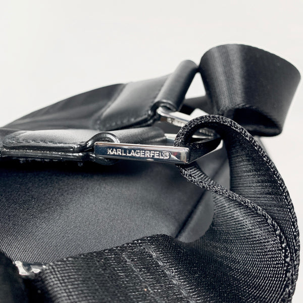 Karl Lagerfeld zaino nero in nylon