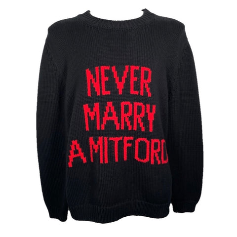 Gucci Never Marry sweater in Mitford, L