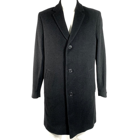 Karl Lagerfeld single-breasted wool coat, 48