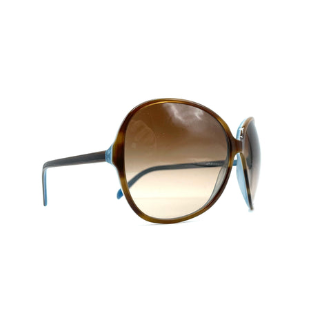Oliver Peoples Donyale leopard oversized sunglasses