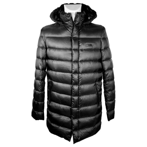Karl Lagerfeld quilted down jacket, 48