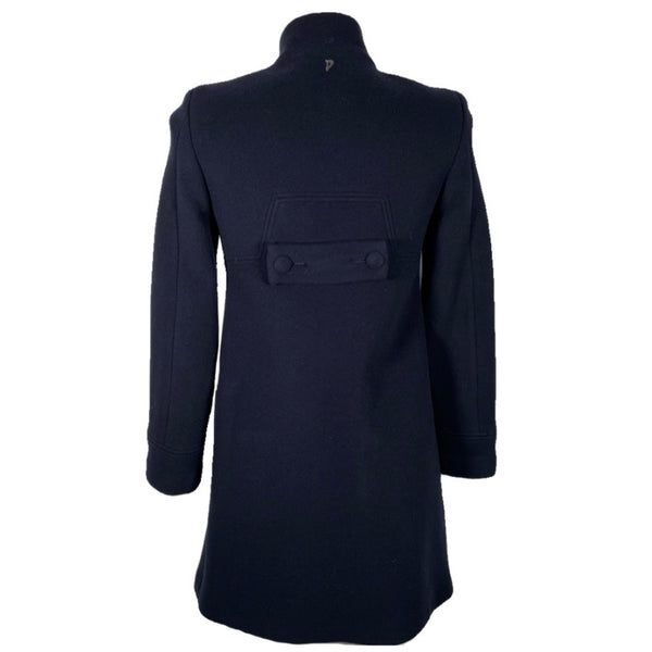 Dondup cappotto in lana blu, 40
