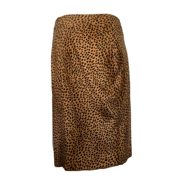 Versace Jeans Couture gonna midi leopardata, 42