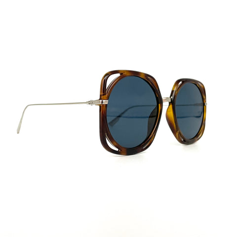 Dior DiorDirection sunglasses in brown havana color
