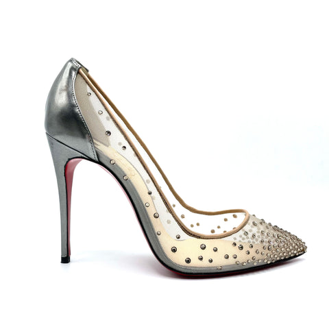 Louboutin Follies Strass pump, 37.5