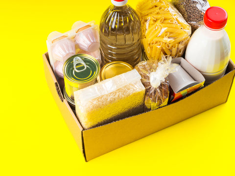 packaged food items