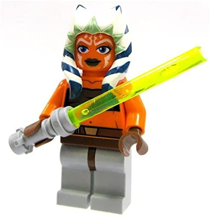 LEGO Star Wars Ahsoka Tano Minifigure with Lightsaber Clone Wars