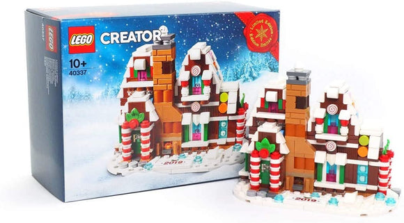 Lego Gingerbread House Mini Limited Edition Creator Set 40337 Limited Edition Christmas